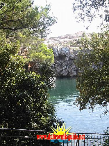 Lake on lokrum Island