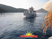 "Boat ""Skala"" sails to Lokrum"